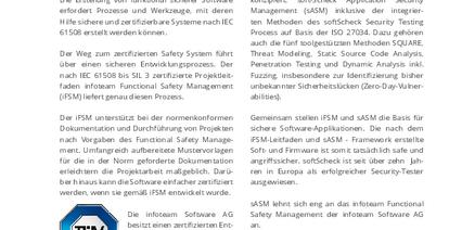 Safety und Security nach IEC 61508 und ISO 27034